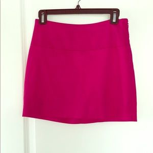 Express Mini Skirt in Hot Pink